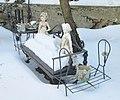 47 Seaman Avenue statuettes in the snow 4.jpg