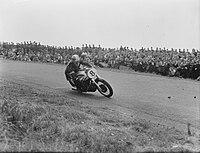 500 cc klasse. Geoff Duke (Norton) winnaar, Bestanddeelnr 904-6709.jpg