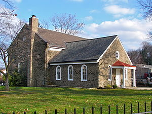 Church of the Brethren - The first Brethren church built in America, in Germantown near Philadelphia