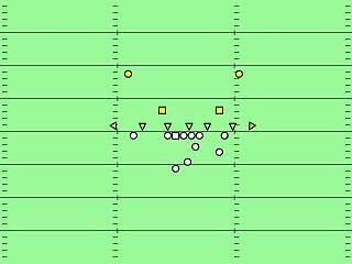 7–2–2 defense American football defensive formation