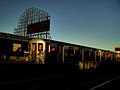 7 train at 33 St at sunset.jpg