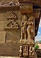 7th - 8th century Huchappaya matha temple, amorous couples in mithuna kama scenes, Aihole Hindu monuments 2.jpg