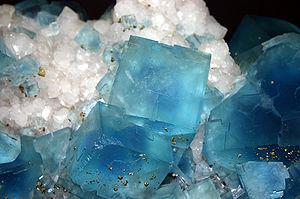 9104 - Milano - Museo storia naturale - Fluorite - Foto Giovanni Dall'Orto 22-Apr-2007.jpg