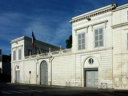 Prefecture building of the Charente-Maritime department, in La Rochelle