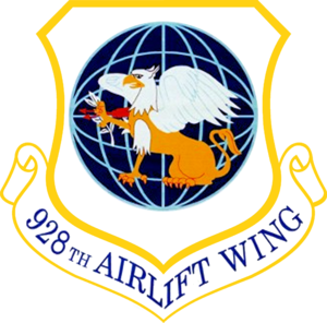 928th Airlift Wing - Image: 928th Airlift Wing Emblem