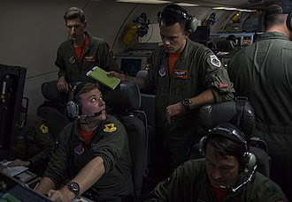 Air Battle Manager - Air battle managers on the AWACS