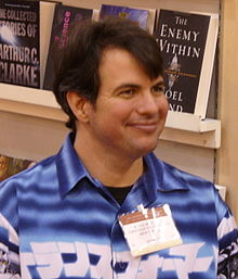 A. Lee Martinez, Alex Award, 2006.jpg