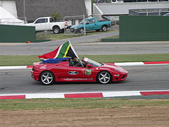Adrian Zaugg at the South African leg of the A1