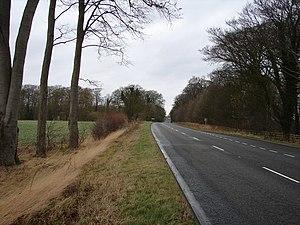 Walmsgate - Image: A16 Approaching Walmsgate geograph.org.uk 657541
