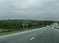 A22 northbound towards East Grinstead - geograph.org.uk - 68150.jpg