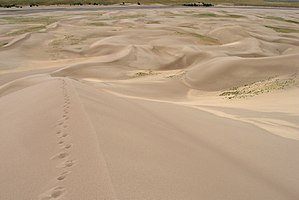 Great Sand Dunes National Park and Preserve - From Star Dune, the tallest dune in the park