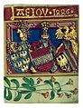 AEIOU Buchmalerei in der Handregistratur König Friedrichs IV 1446.jpg