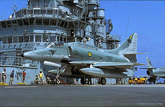 Carrier-based aircraft - Brazilian Navy A-4 Skyhawk