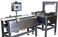 AP Dataweigh 3 bed checkweigher with touchscreen reject and accumulation station.jpg