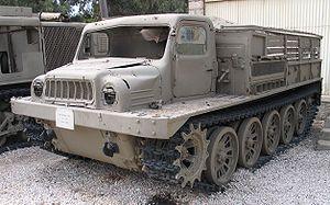ATS-59 - ATS-59 in Batey HaOsef museum, Israel.