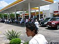A Day Without Immigrants - Shell gas station filled with protesters.jpg