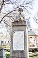 A Petőfi-szobor Kübekházán, a róla elnevezett főtéren.jpg