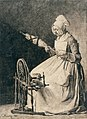 A Woman Spinning Flax MET 2000.515.jpg