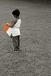 A boy with kite in India.jpg