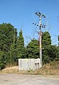 A busy-looking electricity pole - geograph.org.uk - 1510857.jpg