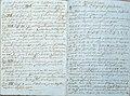 A chi legge tentativo grammatica ladina gardenese manoscritto 7 Gherdëina.jpg