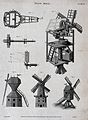 A cutaway diagram of the inside of a windmill (top right), a Wellcome V0025434EL.jpg