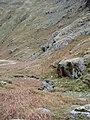 A rock outcrop shepherds the beck - geograph.org.uk - 725248.jpg