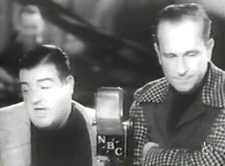Whos on First? Comedy routine made famous by Abbott and Costello