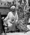 Abdullah after visiting his father's tomb in Jerusalem, 1 June 1948.png