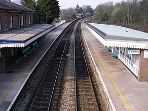Abergavenny railway station - Abergavenny station