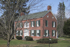 National Register of Historic Places listings in Saratoga County, New York - Image: Abram Best House, Vischer Ferry NY