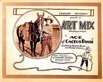 Victor Adamson - The 1924 film Ace of Cactus Range with Adamson directing as Denver Dixon and George Kasterson as Art Mix