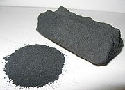 Activated carbon is used as an adsorbent