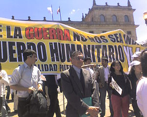 Bolívar Square - Protests on Bolívar Square, 2008
