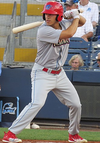 Adam Haseley - Haseley for playing for the Clearwater Threshers