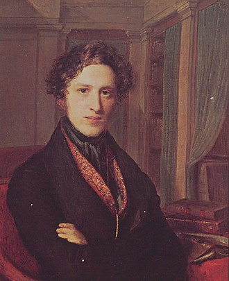 Adolphe Pictet - Adolphe Pictet (1824); portrait by Firmin Massot