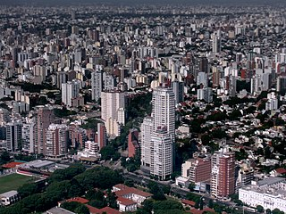 Barrio in Buenos Aires, Argentina
