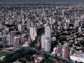 Núñez, Buenos Aires - Aerial view of Núñez