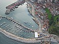 Aerial view of Scarborough South Bay - geograph.org.uk - 654156.jpg