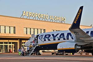 Alghero-Fertilia Airport - New departures terminal