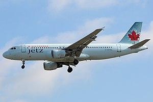 Air Canada Jetz - Air Canada Jetz Airbus A320