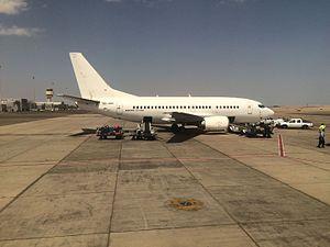 Air Sinai - Boeing 737-566 (SU-GBK) used by Air Sinai