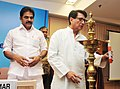 Ajit Singh lighting the lamp to inaugurate the Conference of Aviation Ministers of State Governments, in New Delhi on September 10, 2013. The Minister of State for Civil Aviation, Shri K.C. Venugopal is also seen.jpg