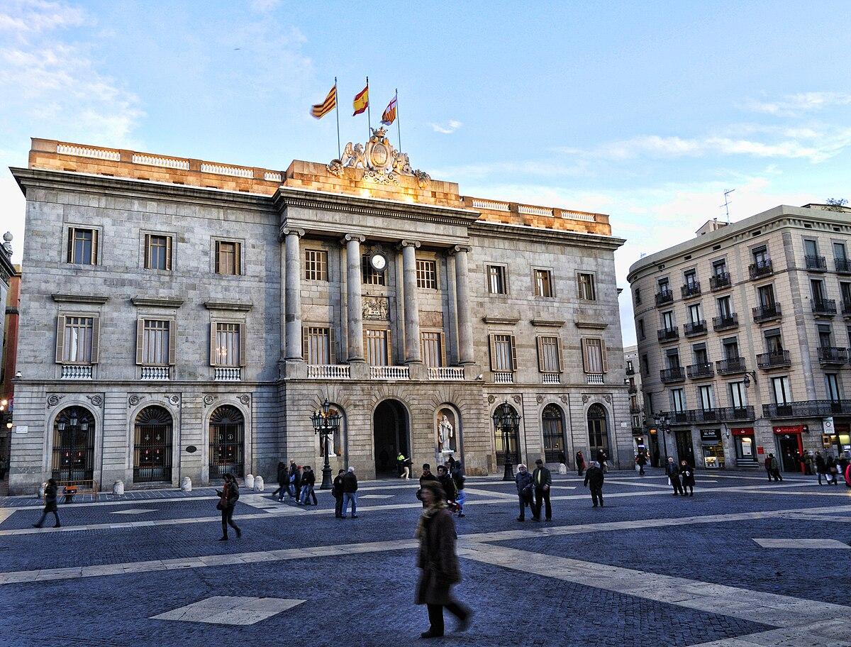 Casa de la ciudad barcelona wikipedia la enciclopedia - La casa de las lamparas barcelona ...
