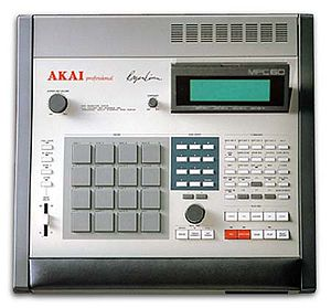 Hip hop production - Image: Akai MPC60