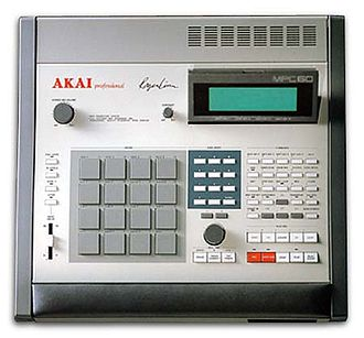 Music Production Controller - Akai MPC60 (1988)