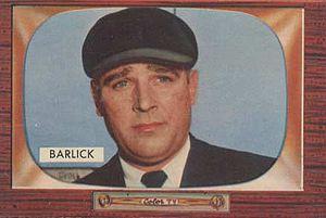 Al Barlick - Image: Al Barlick 1955