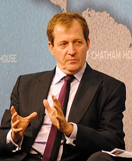 Alastair Campbell director of Communications and Strategy for New Labour, journalist, author, broadcaster