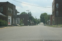 A view of Albany with State Route 681 in the background