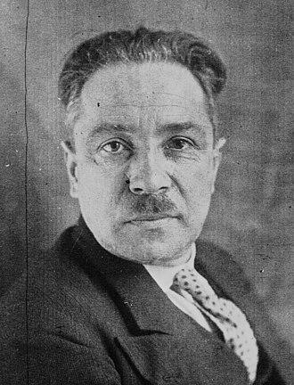 Albert Rivière - Albert Rivière in 1932